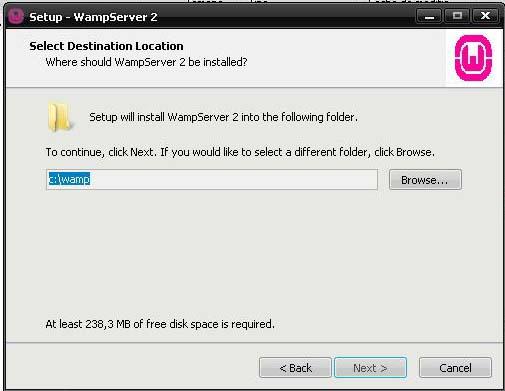servidor wampserver