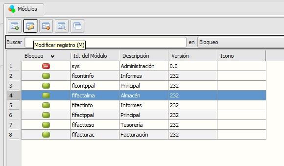 extraer mezcla de base de datos